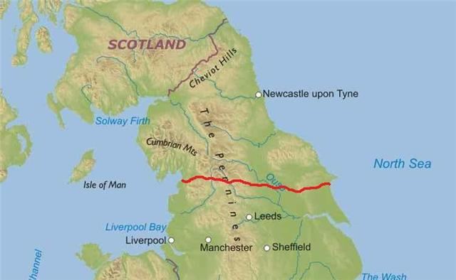 Way of the Roses Cycle route