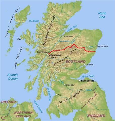 Coast to Coast mountain bike scotland