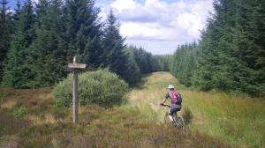 Southern upland way mtb route