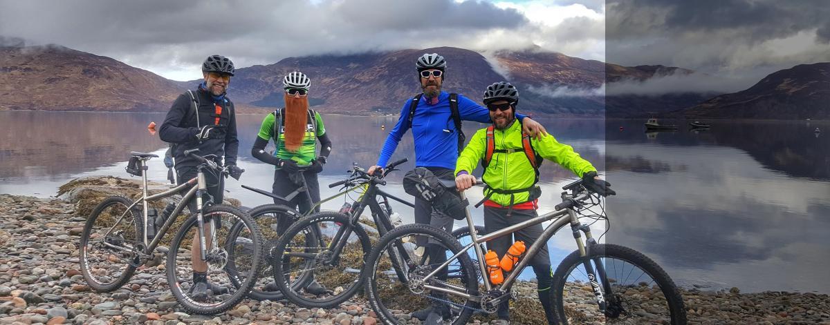 mountain biking holiday Scotland