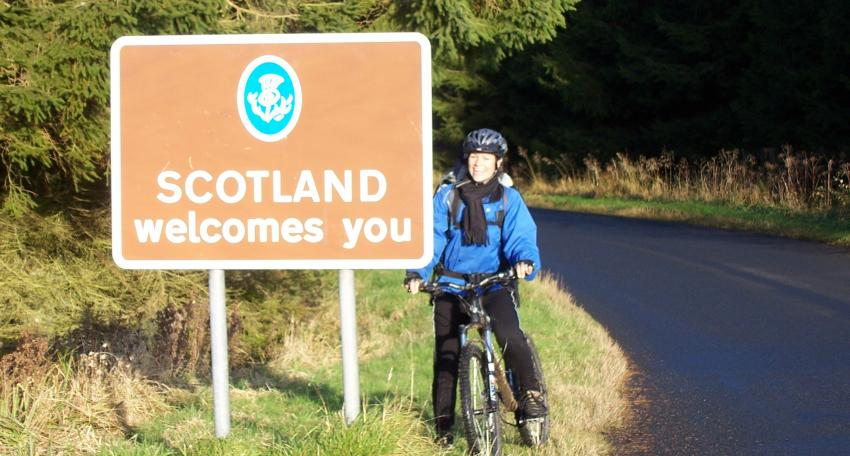 reivers cycle route holiday