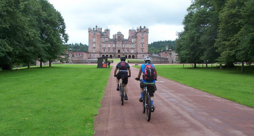 southern upland way biking holiday