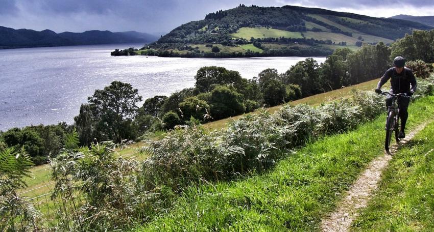 biking tour west highland way