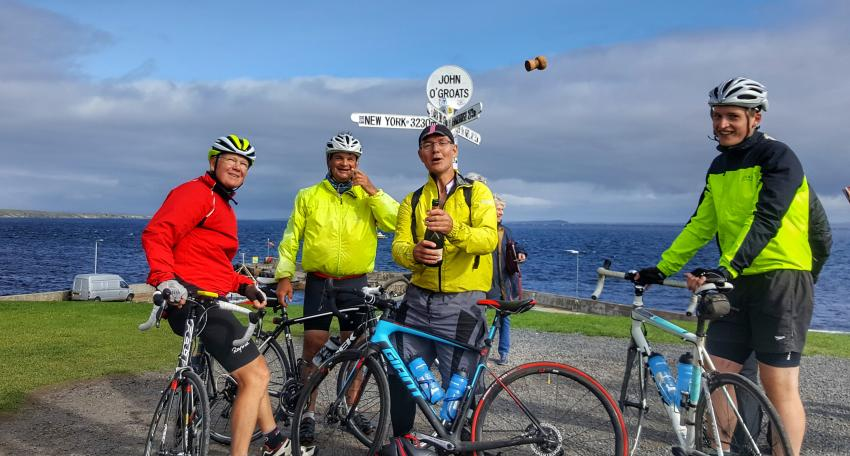 lands end cycling route