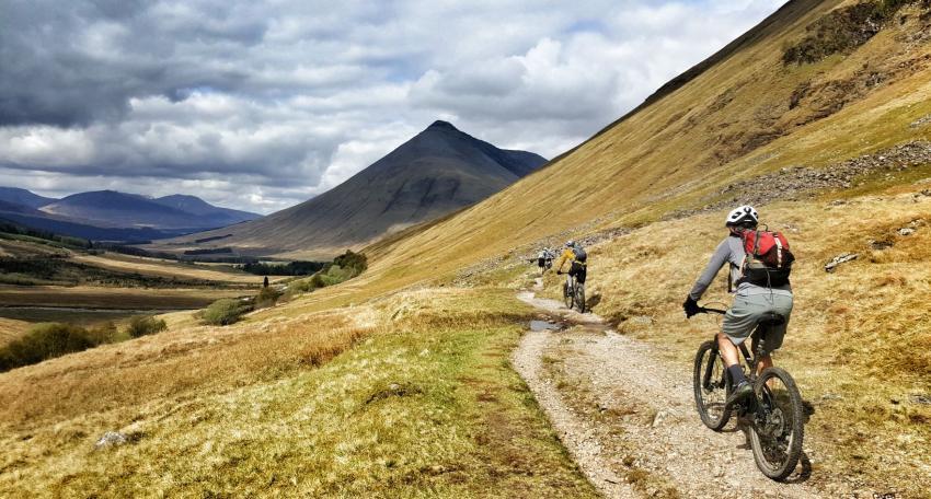 west highland way mtb holiday
