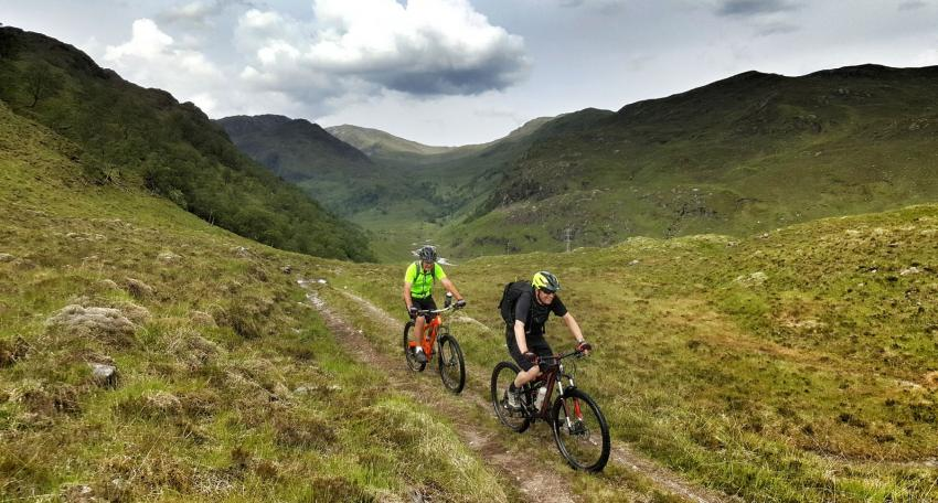 Highland coast to coast MTB route