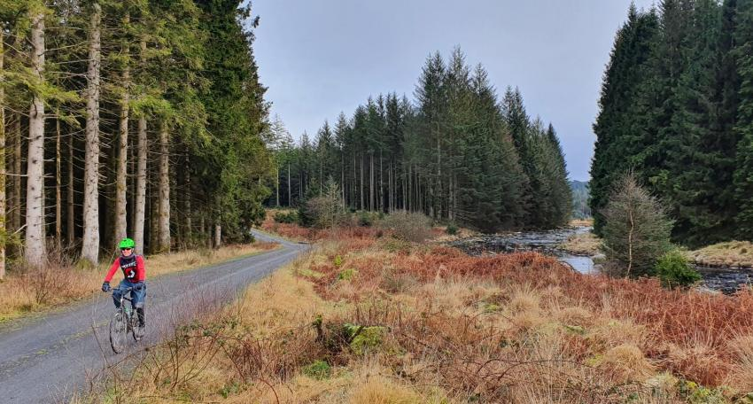 Gravel biking holiday