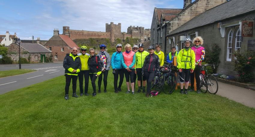 coast and castles cycling holiday