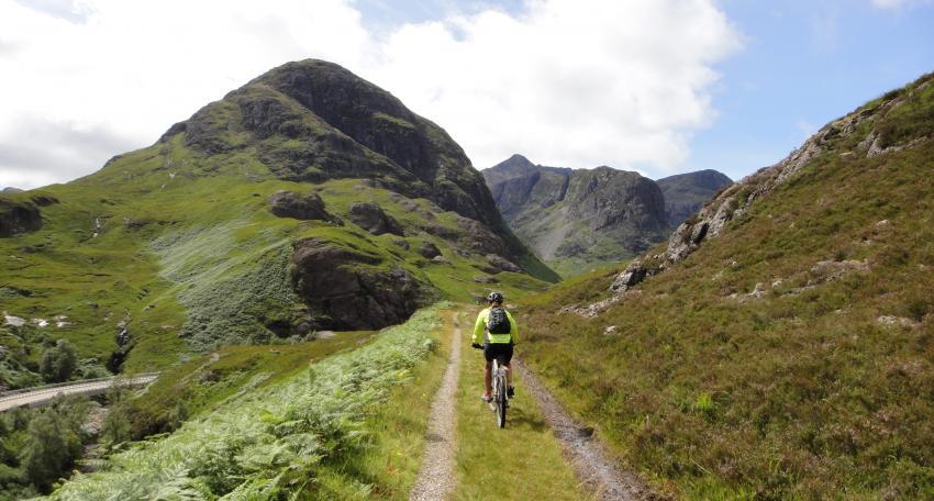 mountain biking route scotland