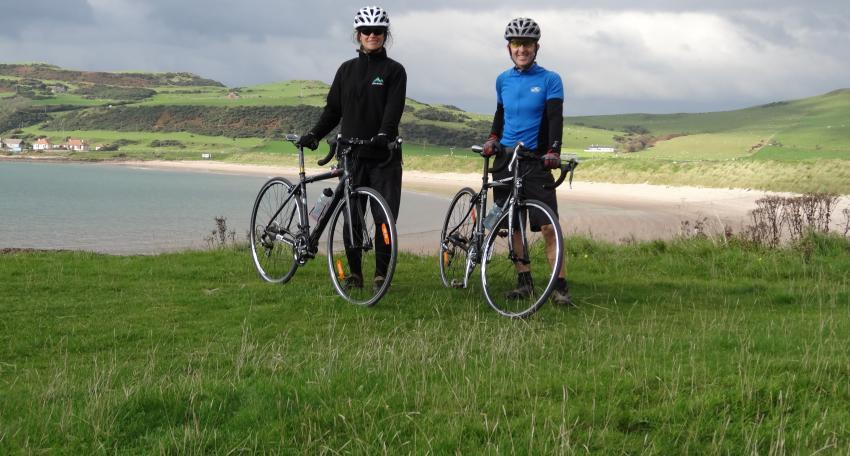 Biking vacation in Scotland