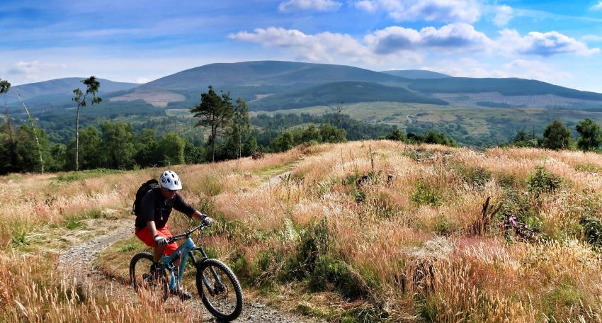 Mountain bike route Scotland