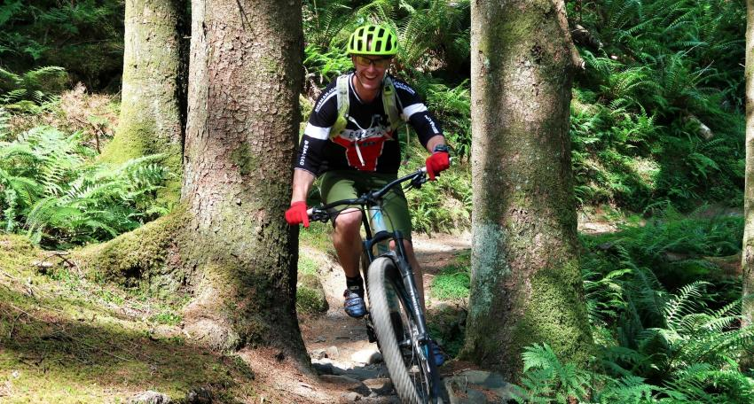 southern upland MTB route