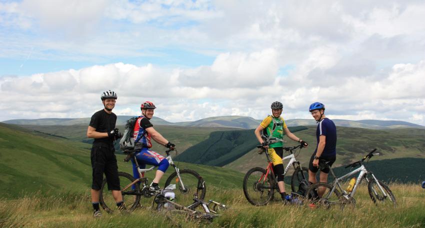 Southern upland way mountain bike tour