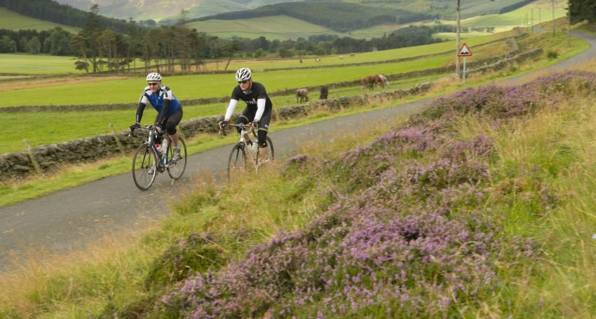 road biking tour scotland