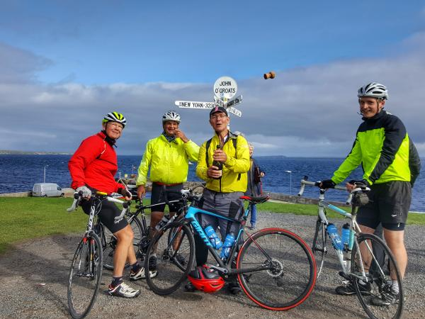 Land's End to John O Groats