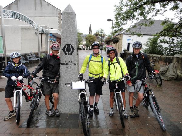 West Highland Way Mountain Bike Route
